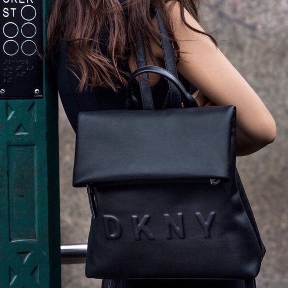 60% discount info for how to find DKNY Tilly medium logo backpack 😍